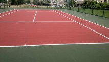 Tennis court construction MI