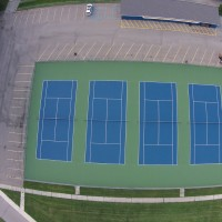 Michigan tennis court company