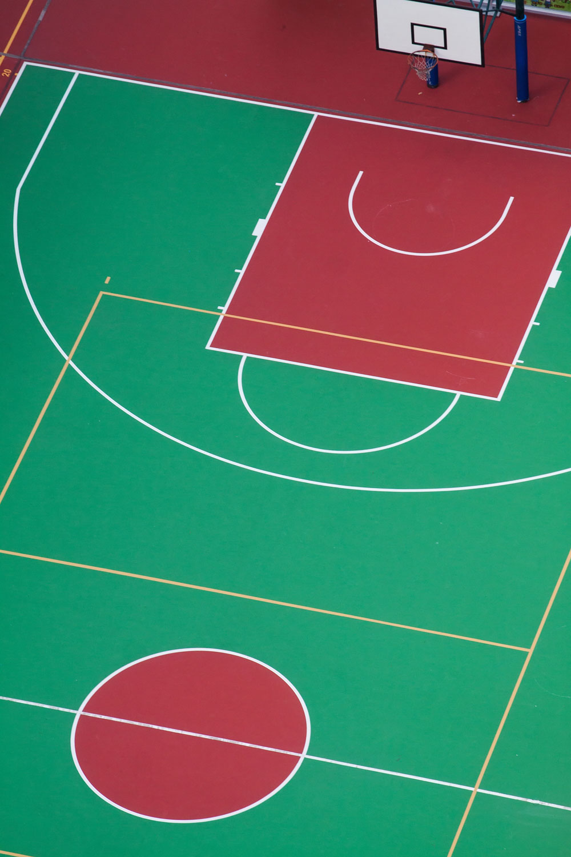 Basketball Court Company Michigan Goddard Coatings