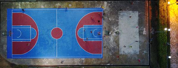 Basketball Court Maintenance and Repair