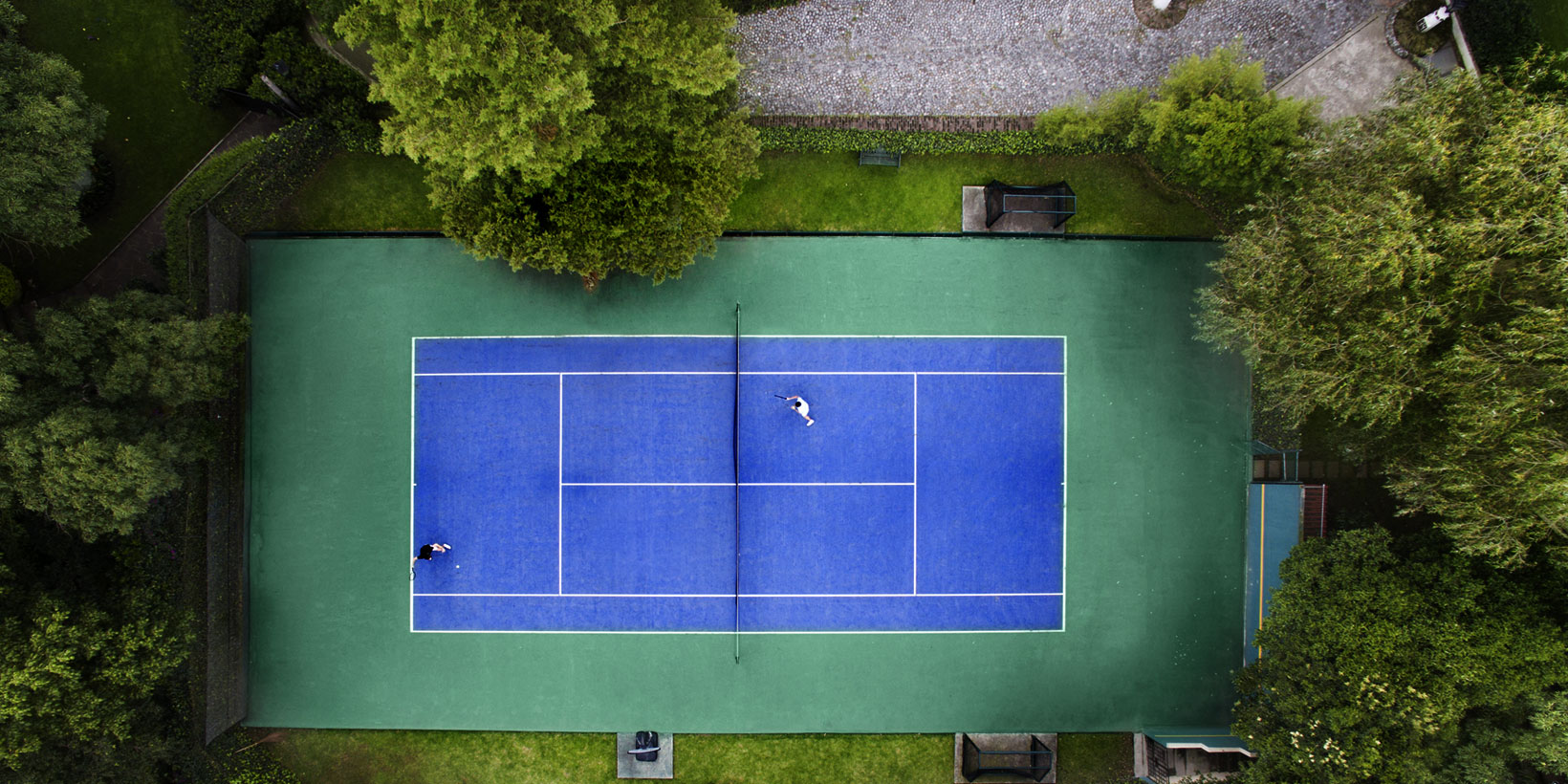 Custom Tennis Courts and Sports Courts for Private Homeowners