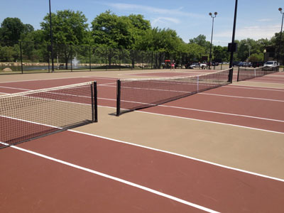 New Tennis Court Construction