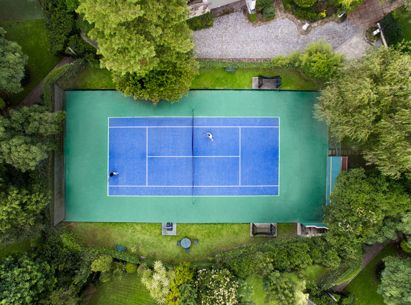 Personal Tennis Court Resurfacing