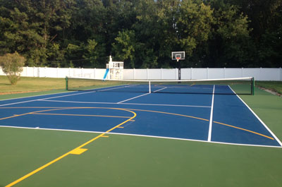 Tennis Court & Basketball Court Resurfacing, Refurbishing, Repair